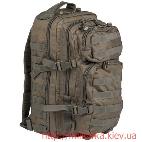 Рюкзак штурмовой Mil-Tec малый 20 л. олива