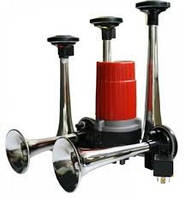 Автомобильный звуковой мелодийный воздушный сигнал RD 85 BС на пять дудок Кукарача