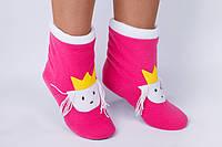"Флисовые тапочки-сапожки ""Принцесса"" (детские, размер 18-32)"
