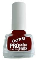 Лаки для ногтей ТМ OOPS Pro color 6 мл