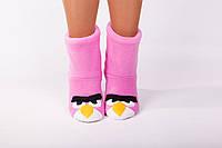 "Флисовые тапочки-сапожки ""Птички"" (детские, размер 18-32)"