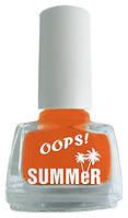 Лаки для ногтей ТМ OOPS Summer 6 мл