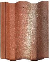 Цементно-песчаная черепица Braas Адрия красный