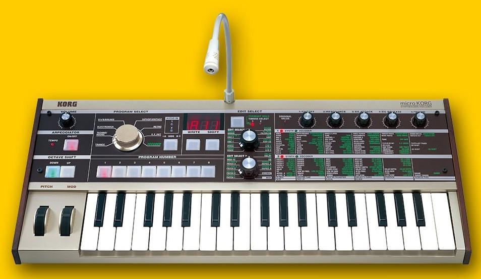 Синтезатор/вокодер Korg MICROKORG
