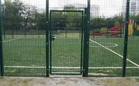 Секционные ограждения (заборы) из сварной сетки для стадиона