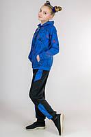 Трикотажный костюм Кошки (голубой)