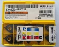 Твердосплавные пластины сменные для резцов WNMG080404 UC5115 MITSUBISHI