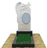 Памятники из белого мрамора, фото 4