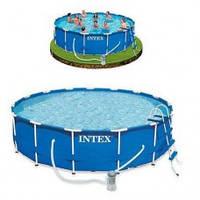 Каркасный бассейн Intex (366 -76 см)