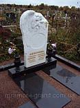 Памятники из белого мрамора, фото 3