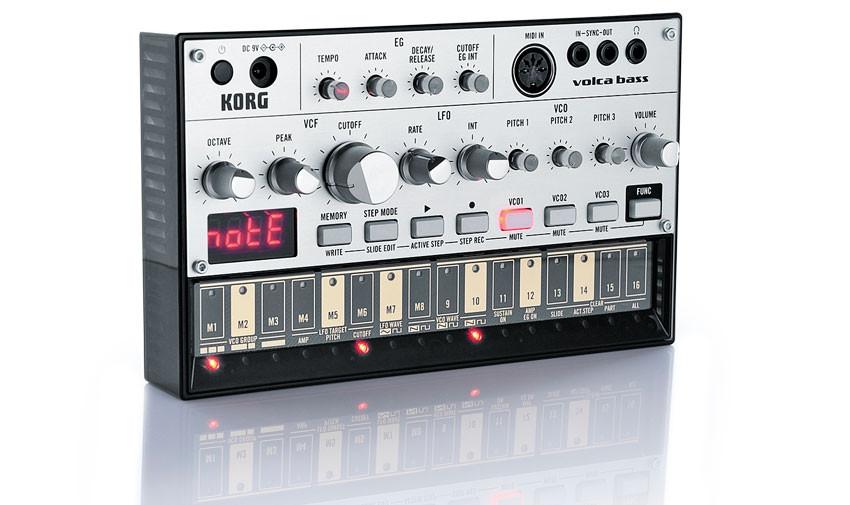 Аналоговый бас-синтезатор Korg Volca Bass