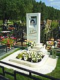 Памятники из белого мрамора, фото 5