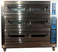 Пекарский (жарочный) шкаф на 3 камеры Altezoro NR-3/6 JC (на 6 противней 600х400)