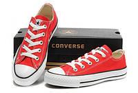 Кеды Converse (Красные низкие)