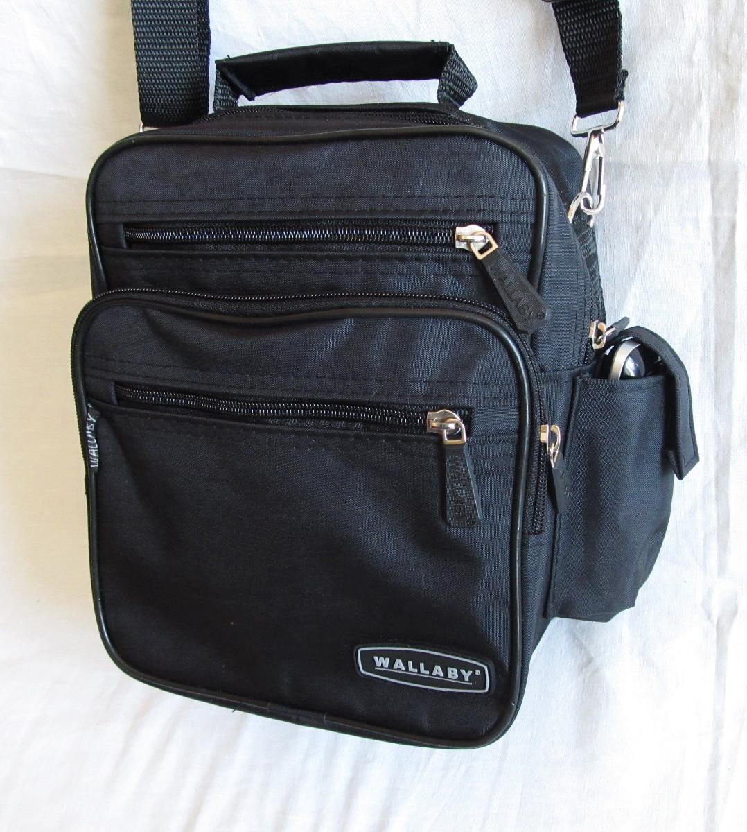f33e50009bbf Мужская сумка Wallaby2665 черная барсетка через плечо 20х25х16см -  Интернет-магазин