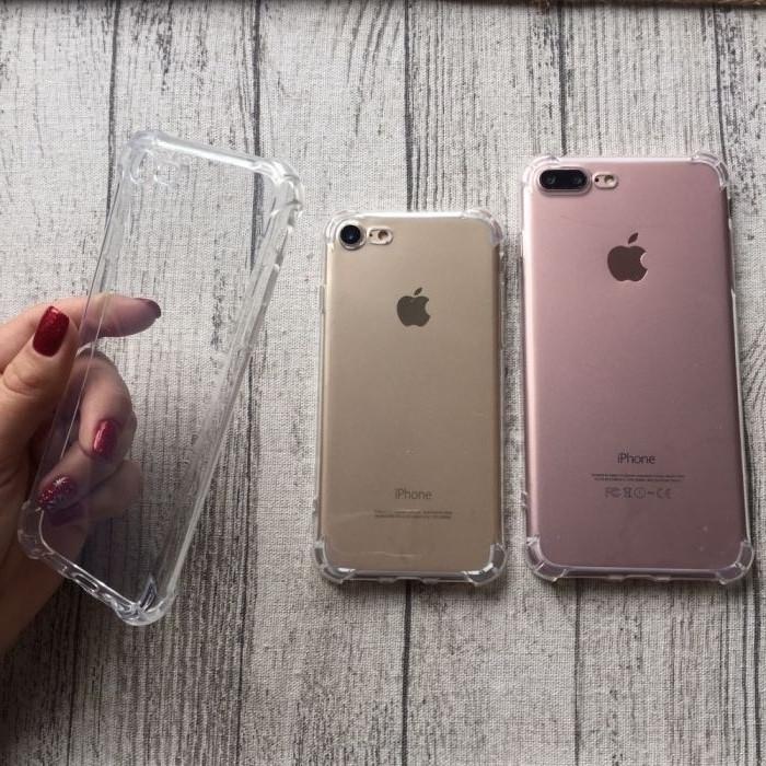 Чехол силиконовый с уголками для iPhone 6/6s