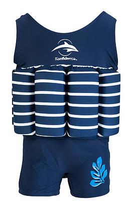 Купальник-поплавок Konfidence Floatsuits, Цвет: Blue Stripe, M/ 2-3 г , фото 2