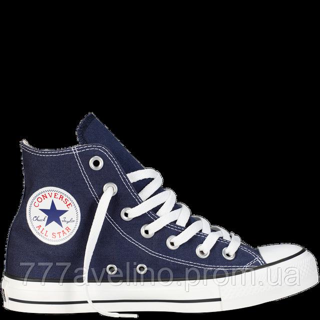 Кеды Converse высокие синие