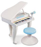 Музыкальная игрушка Weina Рояль белый 2105