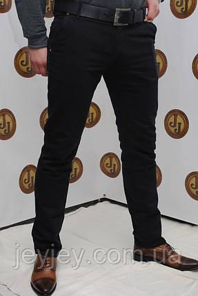 b286f731173 джинсы мужские черные зауженные Davito 401-447  продажа
