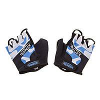 Перчатки для фитнеса Ronex Lycra RLF-501(08) (р.XS, синие)
