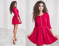 Женское нарядное замшевое платье , фото 1