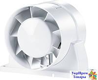 Канальный вентилятор Вентс VENTS 125 ВКОк, вентиляторы, вентиляционное оборудование БЕСПЛАТНАЯ ДОСТАВКА ПО УКРАИНЕ