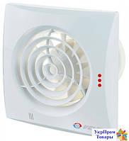 Малошумный вентилятор Вентс VENTS 125 Квайт ТН, вентиляторы, вентиляционное оборудование БЕСПЛАТНАЯ ДОСТАВКА ПО УКРАИНЕ