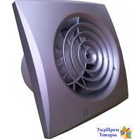 Малошумный вентилятор Вентс VENTS 100 Квайт Т алюм.мат, вентиляторы, вентиляционное оборудование БЕСПЛАТНАЯ ДОСТАВКА ПО УКРАИНЕ
