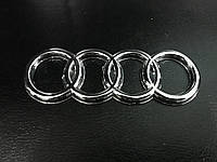 Audi 100 C3 Эмблема самоклейка, 136 мм на 46 мм