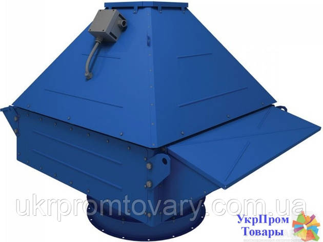 Центробежный крышный вентилятор дымоудаления Вентс VENTS ВКДВ 630-600-5,5/1450, вентиляторы, вентиляционное оборудование, фото 2