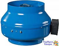 Канальный центробежный вентилятор Вентс VENTS ВКМ 125 Б, вентиляторы, вентиляционное оборудование БЕСПЛАТНАЯ ДОСТАВКА ПО УКРАИНЕ