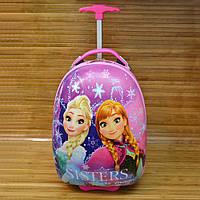 Дорожная сумка детская Холодное сердце Розовый  45х30х25 см