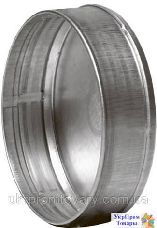 Заглушка внешняя для фасонных элементов 160, вентиляторы, вентиляционное оборудование, фото 2