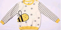 Вязаный свитер  для маленькой девочки тм Aziz Bebe р-ры 80,86,92