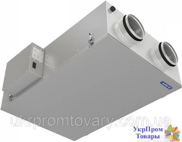 Приточно-вытяжная установка с рекуперацией тепла Вентс VENTS ВУЭ2 200 П, вентиляторы, вентиляционное оборудование БЕСПЛАТНАЯ ДОСТАВКА ПО УКРАИНЕ, фото 2