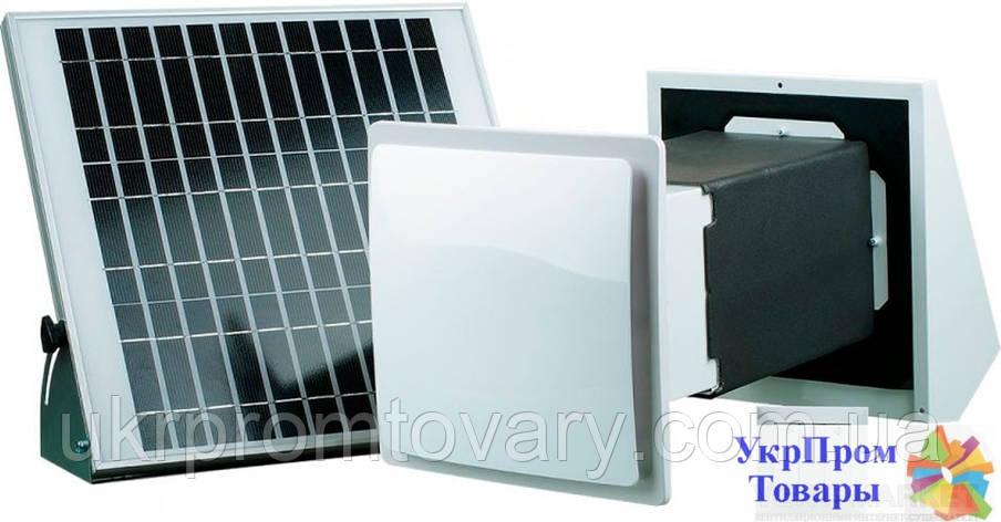 Реверсивный проветриватель с регенерацией энергии Вентс VENTS ТвинФреш Солар СА-60-2, вентиляторы, вентиляционное оборудование, фото 2