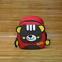 Стильный детский рюкзак Duduhu Красный 26х22х12 см