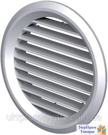 Приточно-вытяжная решетка круглая Вентс VENTS МВ 100 бВ, вентиляторы, вентиляционное оборудование, фото 2