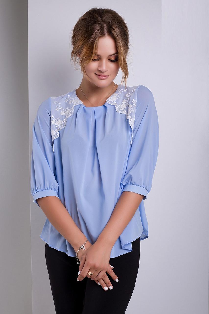 Красивая женская блуза Sofiya 42–52р. в расцветках