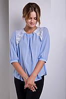 Красивая женская блуза Sofiya 42–52р. в расцветках, фото 1