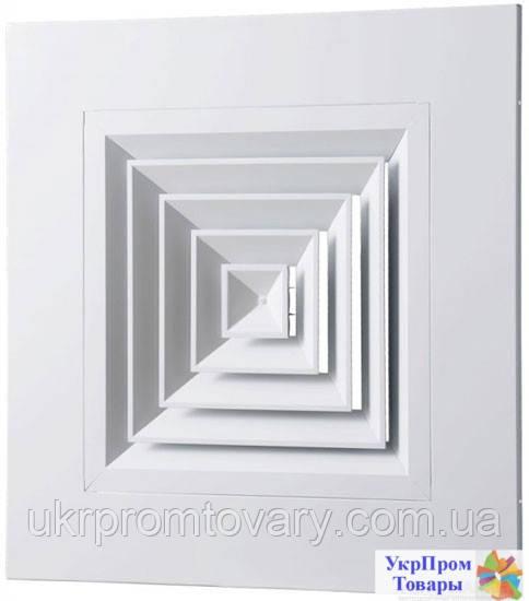 Диффузор потолочный Вентс VENTS ДПп 595х300, вентиляторы, вентиляционное оборудование