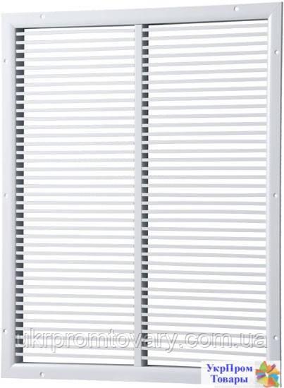 Решетка однорядная нерегулируемая линейно-секционная Вентс VENTS ОНС 1 600х500, вентиляторы, вентиляционное оборудование