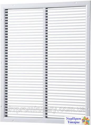 Решетка однорядная нерегулируемая линейно-секционная Вентс VENTS ОНС 1 600х500, вентиляторы, вентиляционное оборудование, фото 2