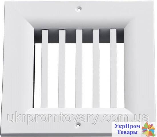 Решетка однорядная нерегулируемая Вентс VENTS ОНВ 1 100х100, вентиляторы, вентиляционное оборудование