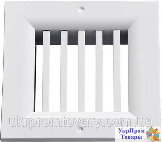 Решетка однорядная нерегулируемая Вентс VENTS ОНВ 1 100х100, вентиляторы, вентиляционное оборудование, фото 2