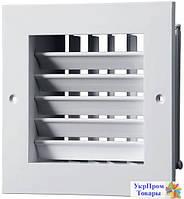 Приточно-вытяжная решетка Вентс VENTS ДР 100х100, вентиляторы, вентиляционное оборудование БЕСПЛАТНАЯ ДОСТАВКА ПО УКРАИНЕ