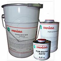 2-К Полиакриловый лак мебельный Contracid D3010 HERLAC (5л. лак., отв. A01U 0,5л., раств. S 1л. )