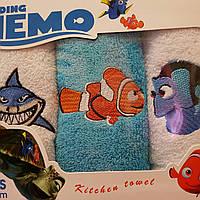 Детские махровые полотенца  50х30 Nemo