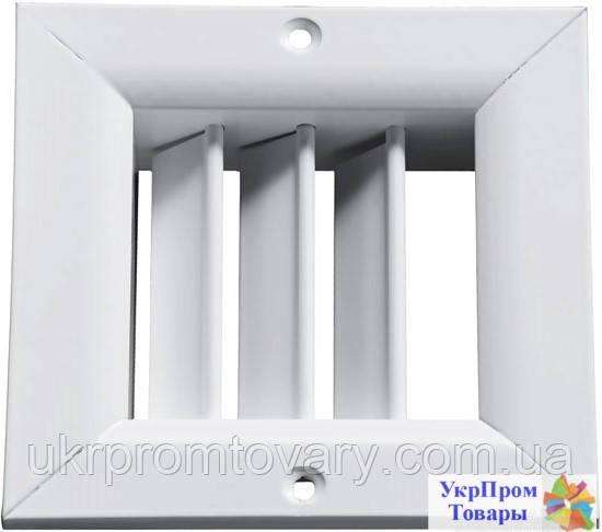 Решетка однорядная регулируемая Вентс VENTS ОРГ 250х250, вентиляторы, вентиляционное оборудование